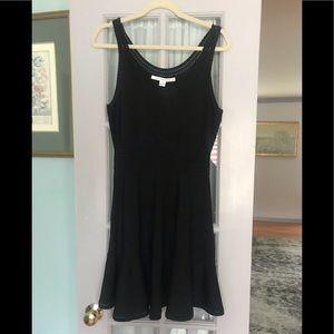 Diane Von Furstenberg Blk Dress Sz M